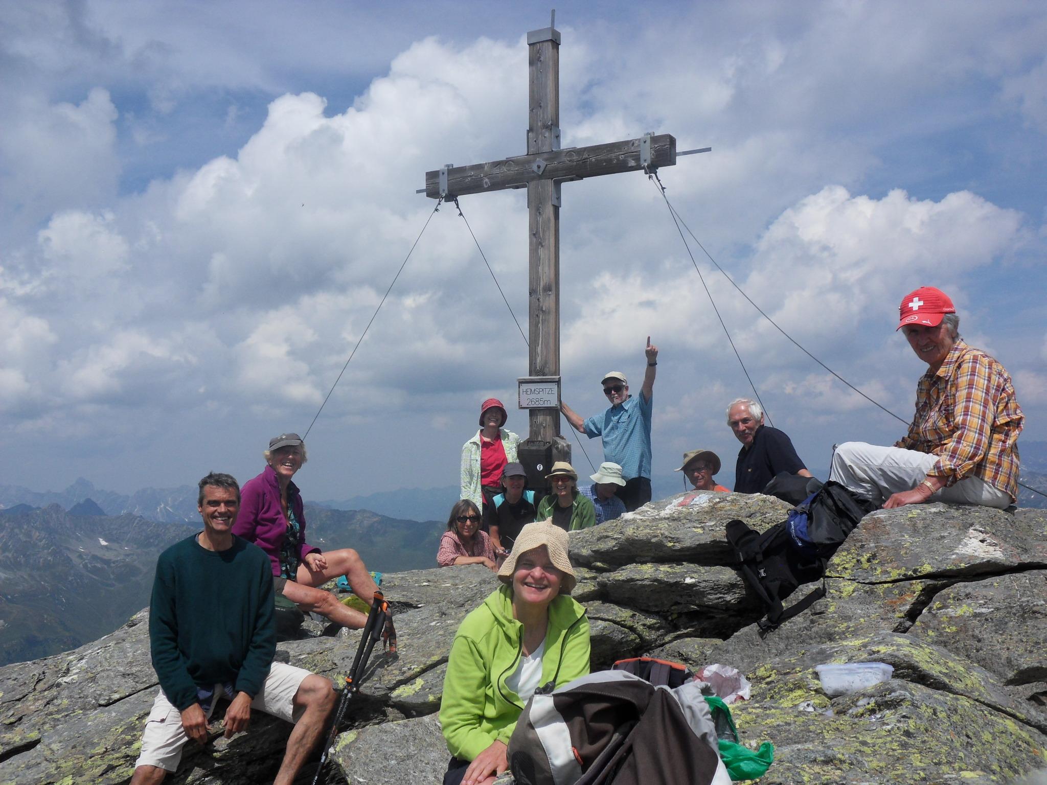 Gipfelmannschaft Heimspitze